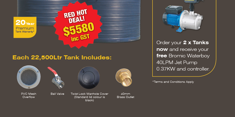 Coerco Flexi-n & Poly Water Tanks Now Available At BTW Spray Shop !!!