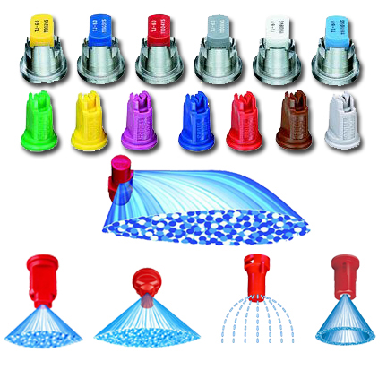 Spray Nozzles/Nozzle Bodies/Caps etc